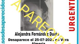 Alejandra Fernández ha sido localizada.