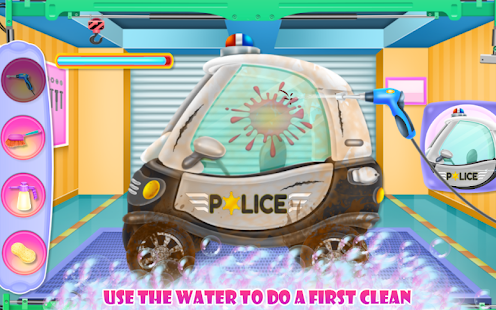 Baby Police Car Wash - náhled