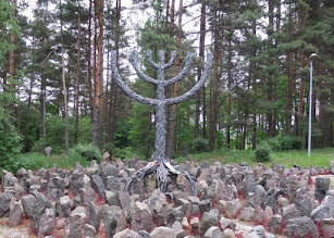 Photo: Close to Salaspils is a site were more than 25,000 Jews were murdered on Nov. 30 and Dec. 8, 1941.  Children, elderly, and women were buried in five massive graves.