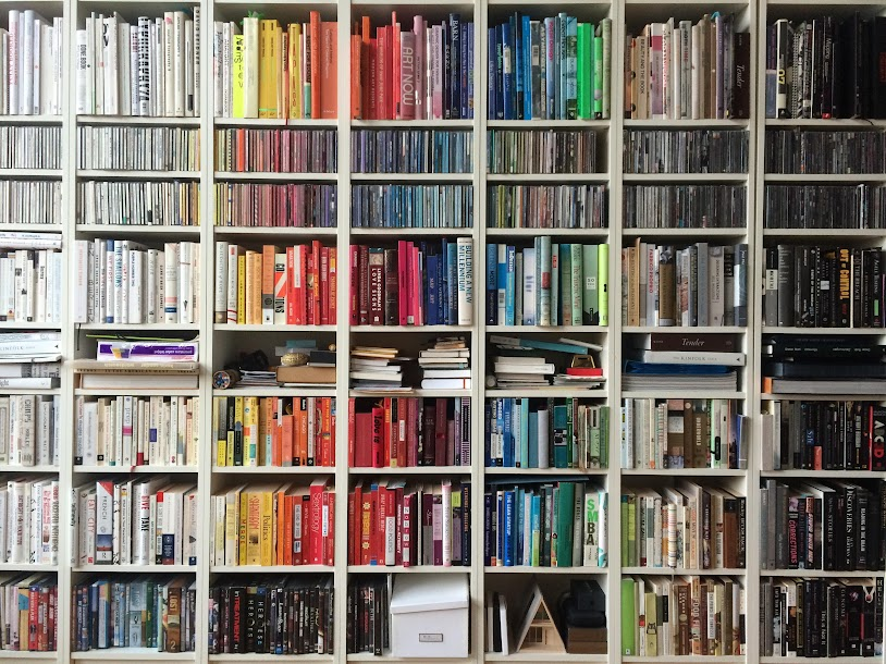 Search through your bookshelves for books you no longer read