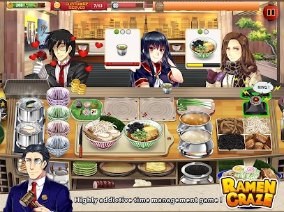 Ramen Craze – Fun Kitchen Cooking Game Apk Download For Android and Iphone 6