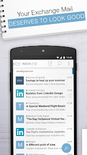 Email Exchange + by MailWise- screenshot thumbnail