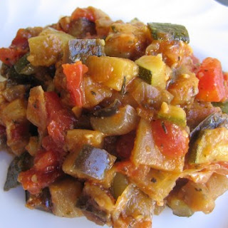 Easy Weight Watchers Friendly Ratatouille.