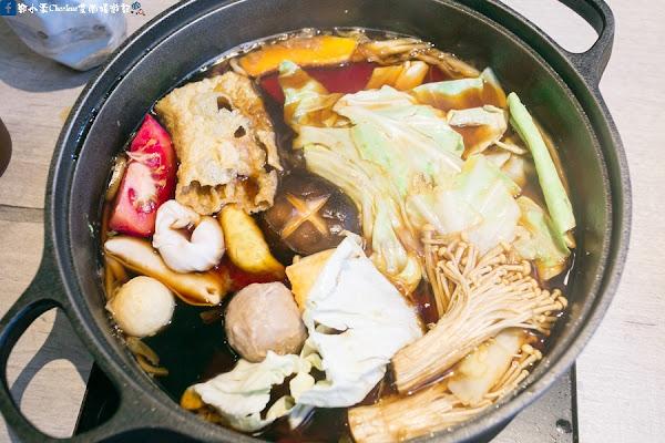 台北松山。這一小鍋Orissic Hot Pot-CITYLINK松山車站貳號店,黃金壽喜燒/經典石頭鍋/御膳麻辣鍋/一品酸菜鍋/老火湯~香甘麻酸鮮,湯頭溫潤甘醇,一人也可獨享的美味精緻火鍋