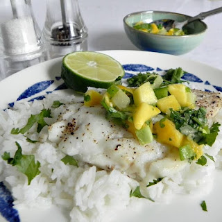 Cod With Fruit Salsa
