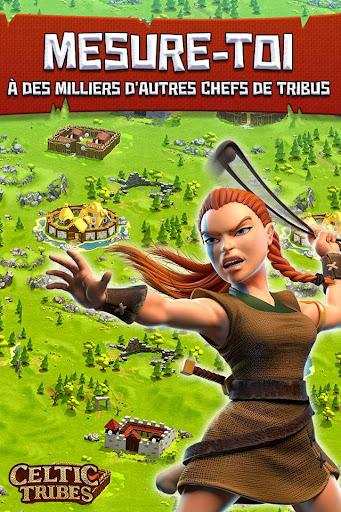 Code Triche Celtic Tribes - MMO de stratu00e9gie construction APK MOD screenshots 3
