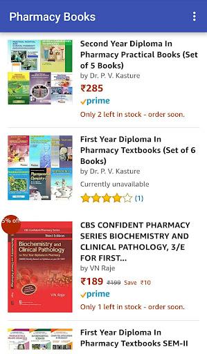 Pharmacy Books at Amazon 1.0 screenshots 8