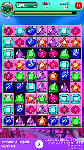 Code Triche Jewels Match Master APK MOD screenshots 2