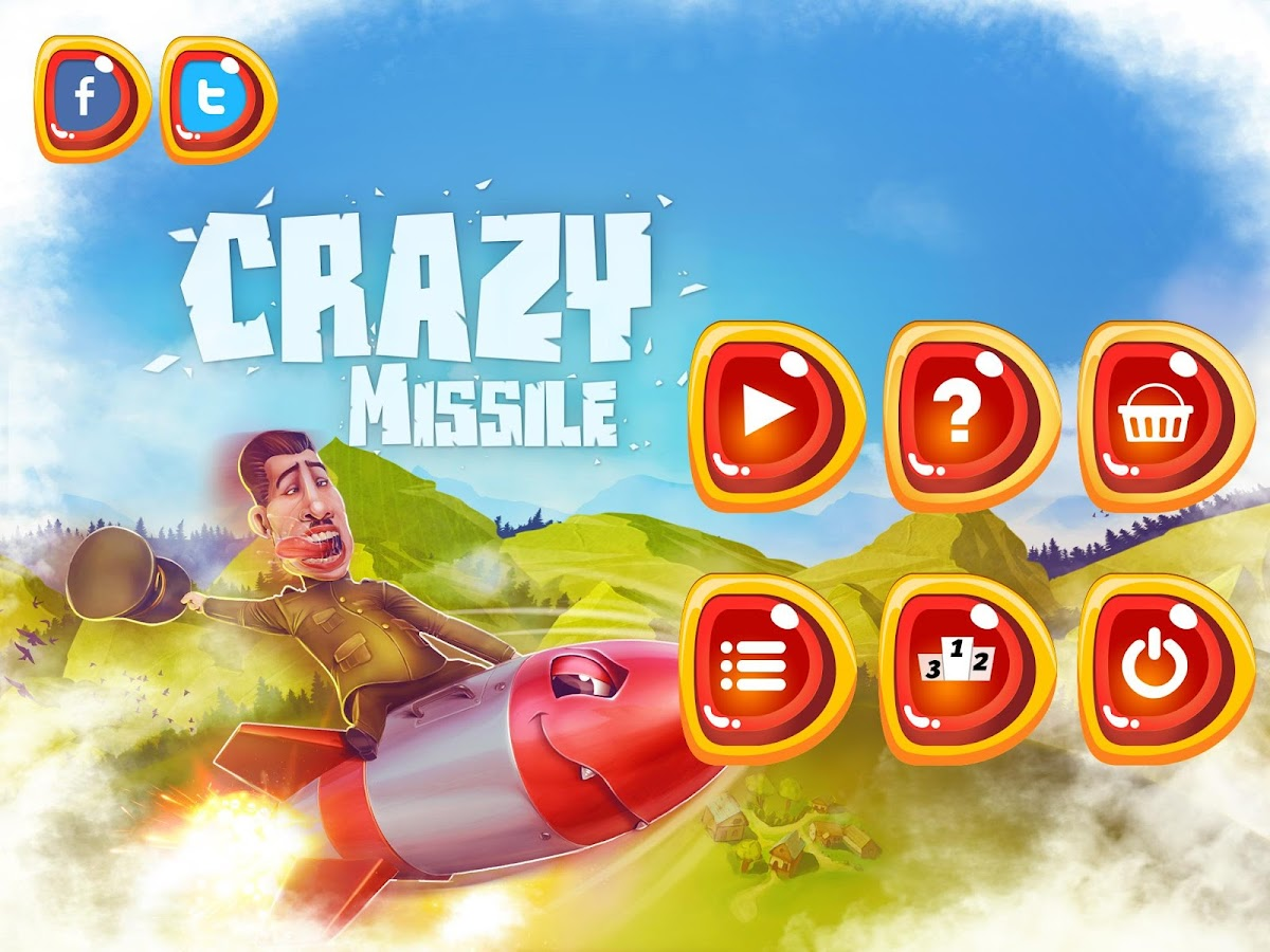 Crazy Missile- screenshot