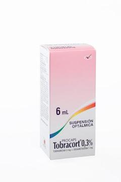 Tobracort 0.03%   Sus.Oft.Frasco x6Ml. Procaps Tobramicina Dexametasona