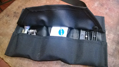 Photo: Hugga Tool Roll Iterations: also too thick