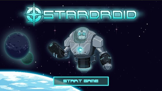 Star Droid - 2D sci-fi action- screenshot thumbnail