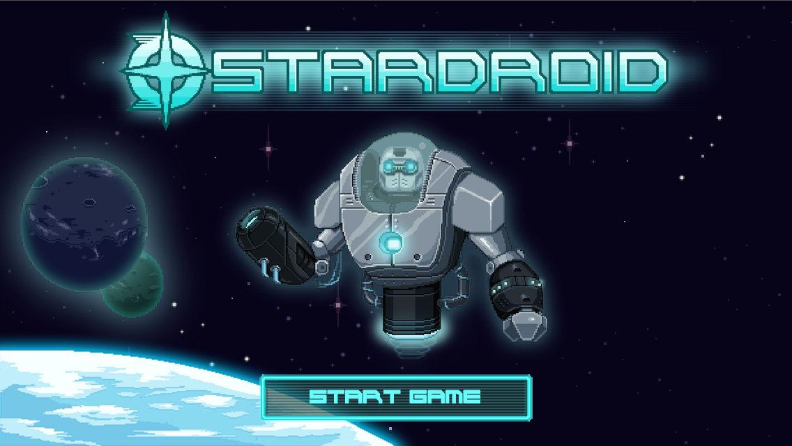 Star Droid - 2D sci-fi action- screenshot
