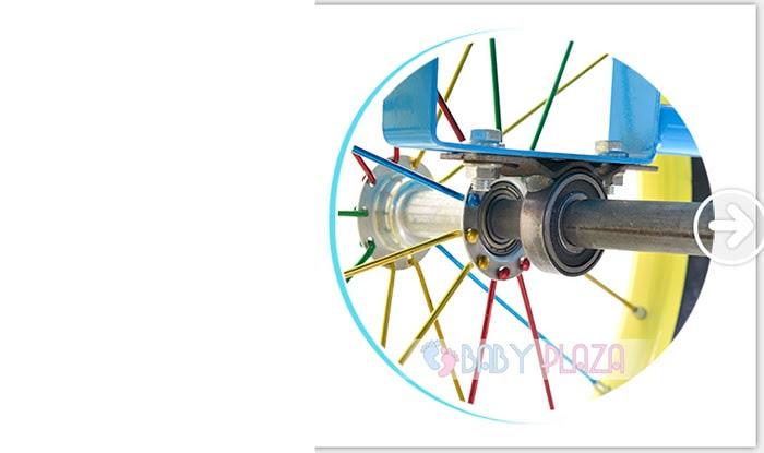 Xe đạp xích lô dành cho bé yêu XL-01 8
