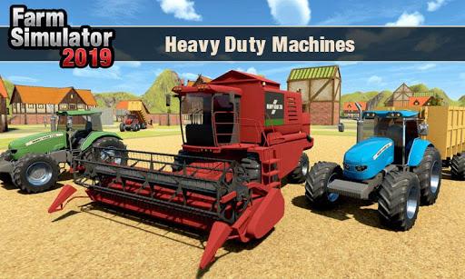 Real Tractor Driver Farm Simulator -Tractor Games 1.0.8 screenshots 7