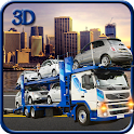 Car Transport Trailer icon
