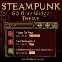 Steampunk GO Note Widget Theme icon