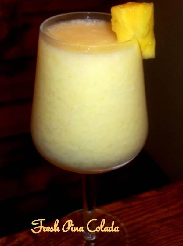 Fresh Pina Colada ~ Cassies Recipe