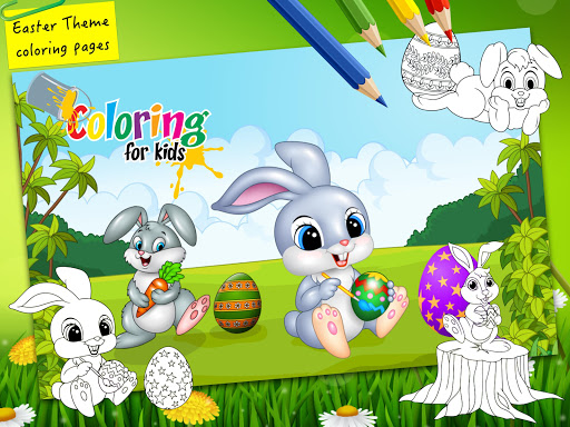 Easter bunny egg coloring book 1.06 screenshots 6