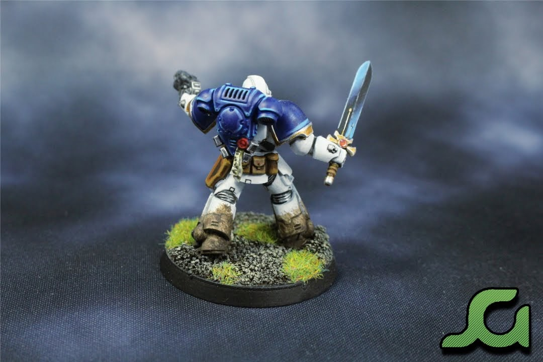 Primaris Captain Rear