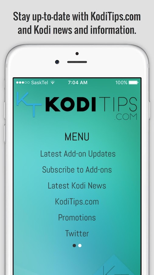 Kodi Tips- screenshot