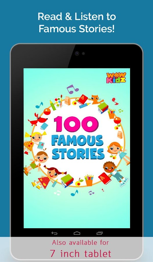 100 Famous English Stories- screenshot