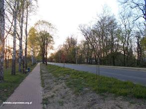 Photo: Wyremontowana z tzw schetynówek droga dojazdowa do miasta (ul. Jesionowa)