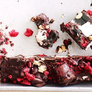 Dark Chocolate Licorice Rocky Road.