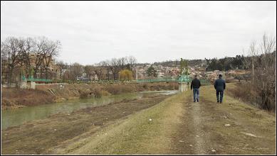 Photo: Turda - Parcul Tineretului si dig Str. Stefan cel Mare - Pasarela peste Raul Aries  - 2019.02.21