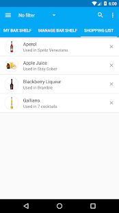 My Cocktail Bar Pro- screenshot thumbnail