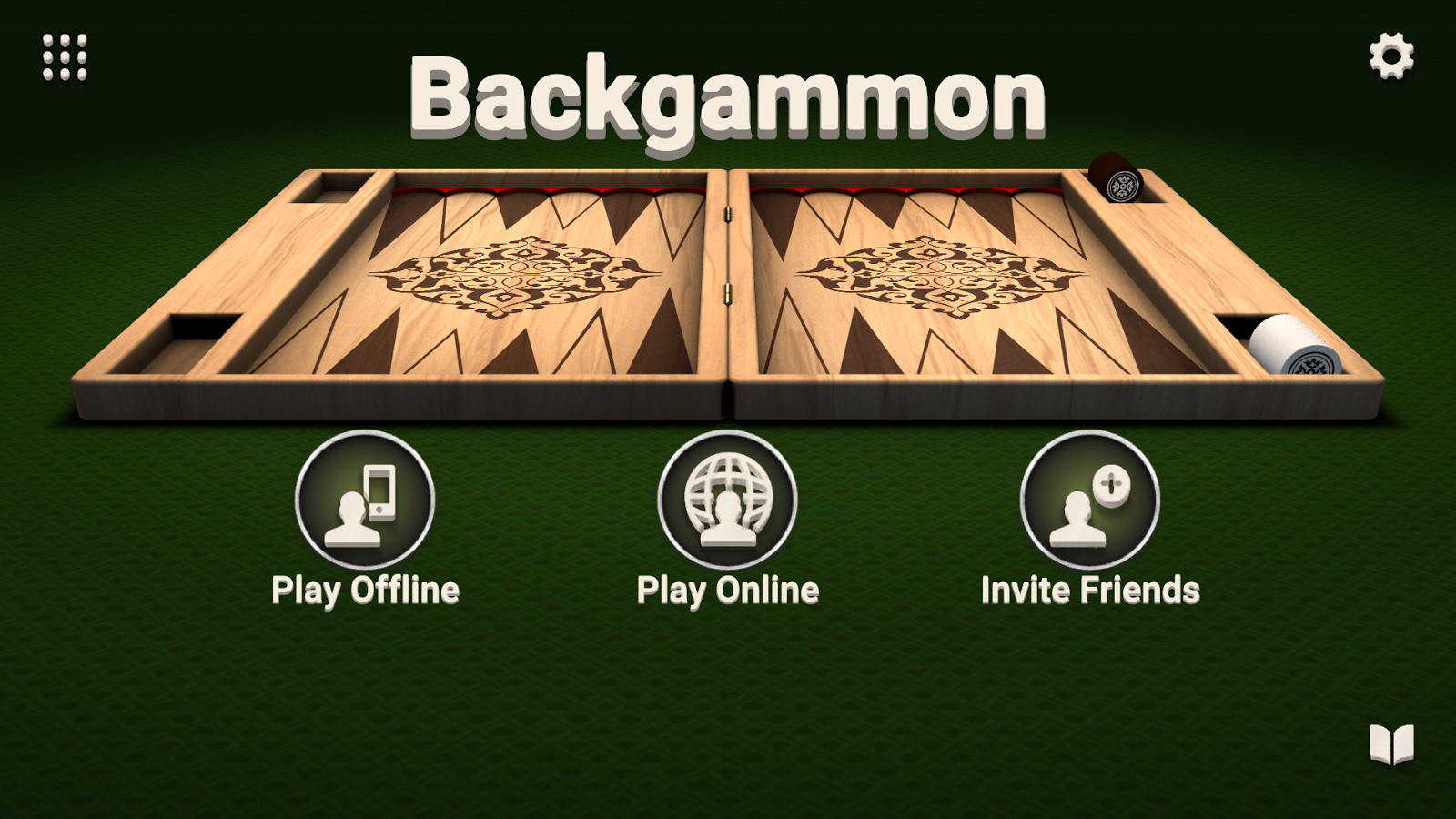 Backgammon - Free Board Game by LITE Games- screenshot