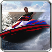 Water Power Boat Racer Simulation 3D