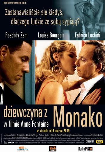 Polski plakat filmu 'Dziewczyna Z Monako'