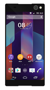 KK4.4 | Free Sony Xperia Theme- screenshot thumbnail