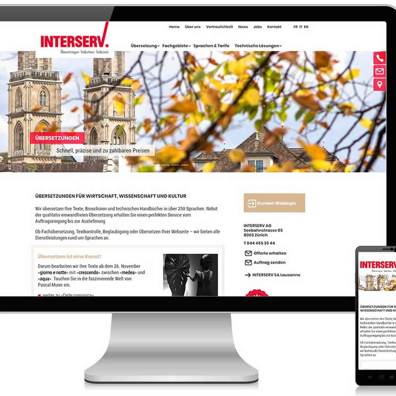 Designsia Zürich Webdesign Integrierte Kommunikation