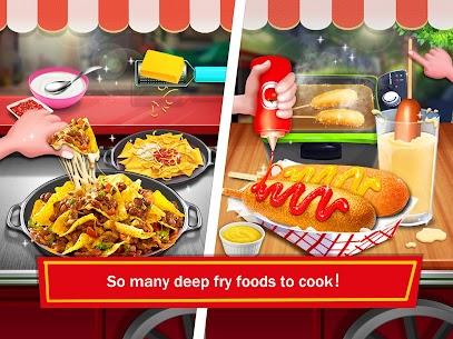 Street Food: Deep Fried Foods Maker Cooking Games 3