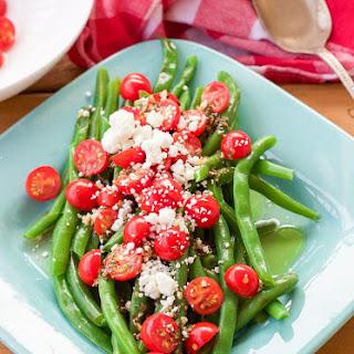 5 Minute Greek Green Beans