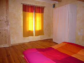 Photo: chambre jaune