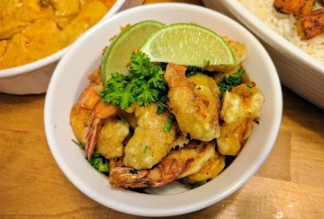 Crunchy Curried Shrimp Or Fish Recipe