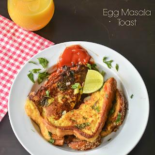 Egg Masala Toast