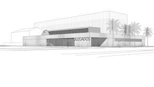 Proyecto de la nueva sede judicial.