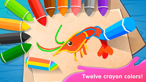Baby Panda's Drawing Book - Painting for Kids screenshot 4
