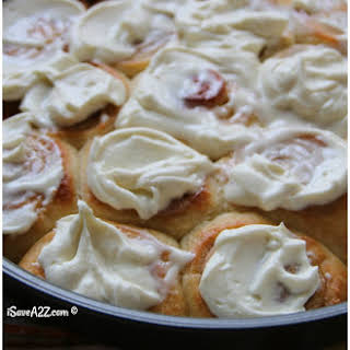 Keto Cinnamon Rolls Recipe - Low Carb and Made with Cream Cheese Frosting.