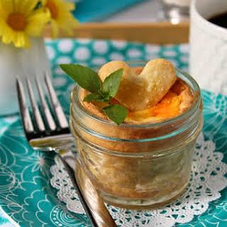 Crusted Quiche In A Jar.