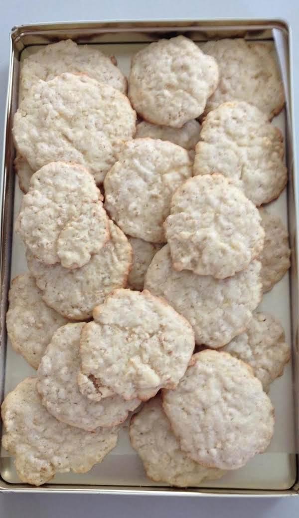 Lemony Oat Sugar Cookies