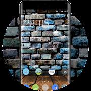 Theme for natural retro wall xiaomi redmi note4 icon