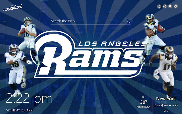 Los Angeles Rams HD Wallpapers NFL Theme