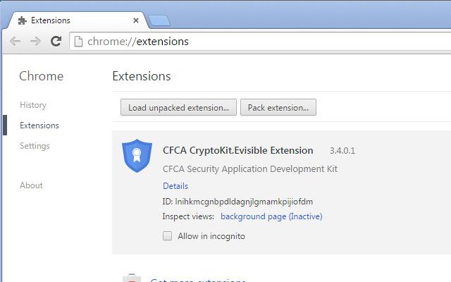 CFCA CryptoKit.Evisible Extension