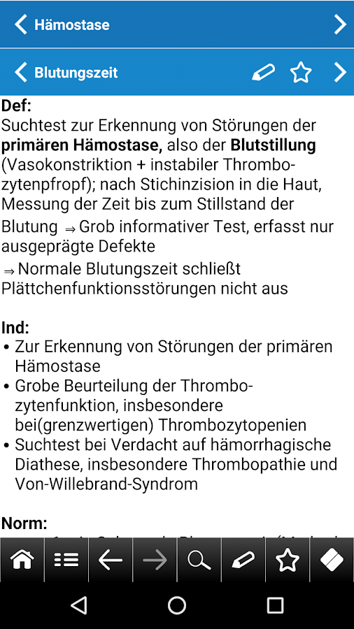 Labormedizin pocket- screenshot
