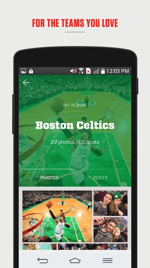 Fancred - Your Sports Identity- screenshot